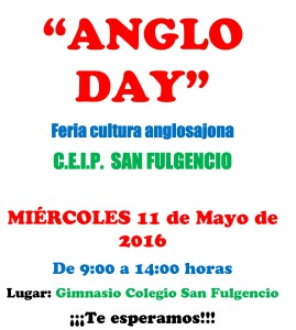 CARTEL PROPAGANDA ANGLO DAY