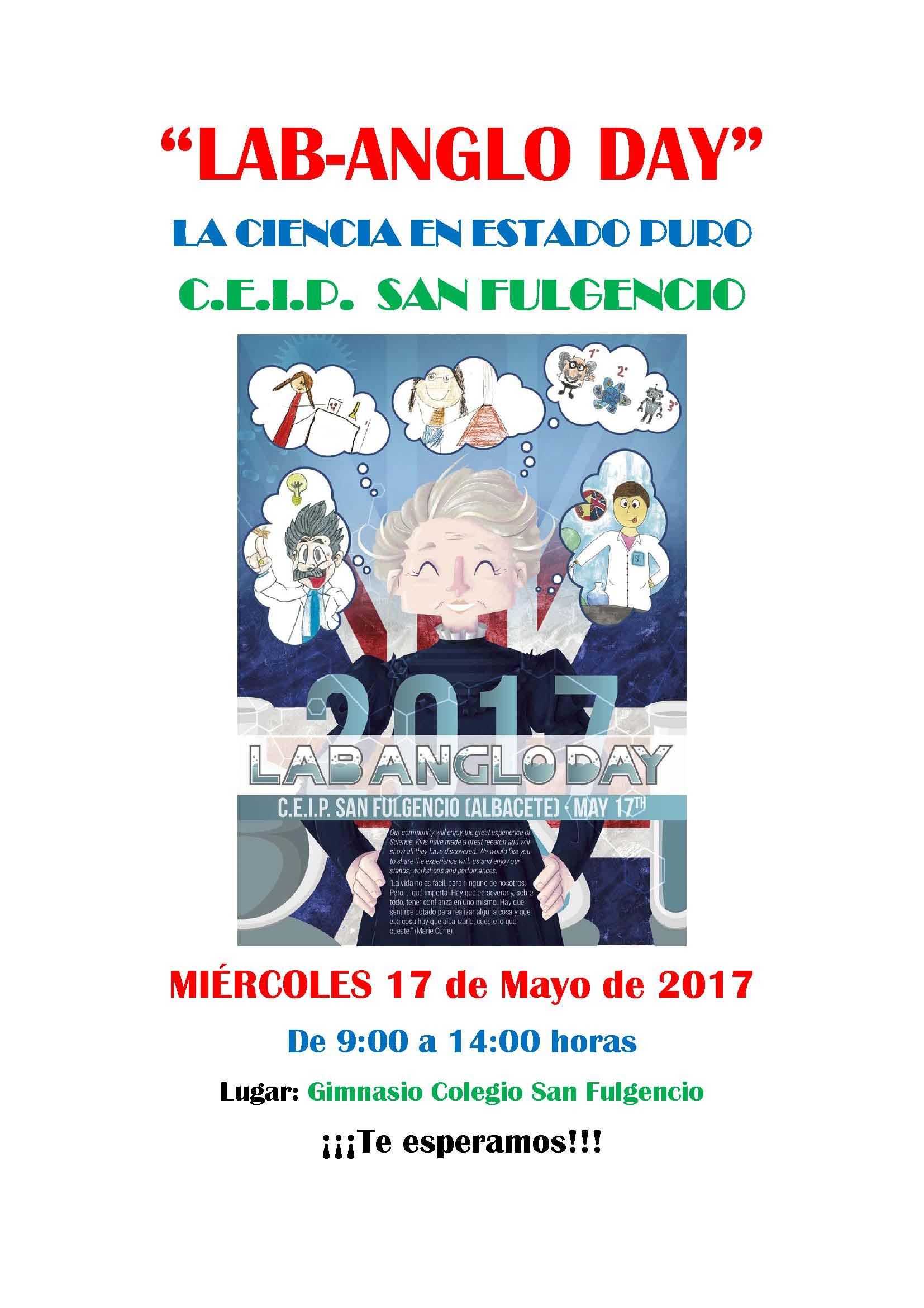 cartel lab anglo day sanfulgencio